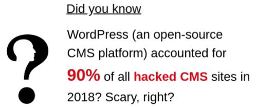 CMS hack stat