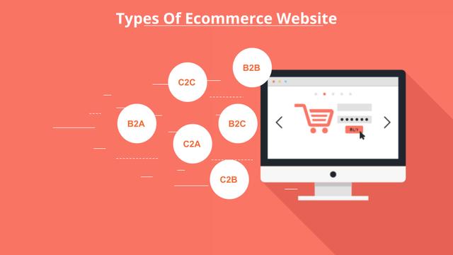 types of ecommerce website